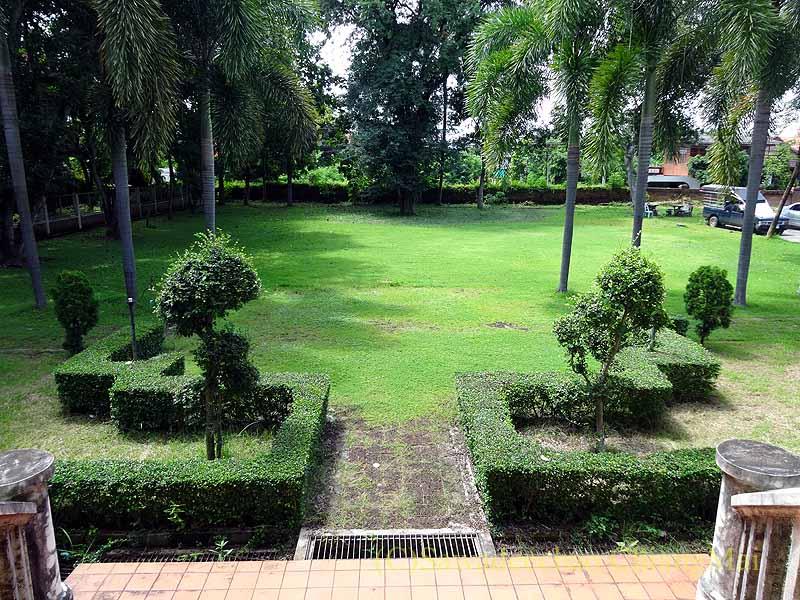 タイのプレーのクムチャオルワンムアンプレーの庭園