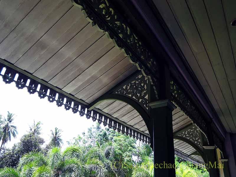 タイのプレーのクムチャオルワンムアンプレーのひさし