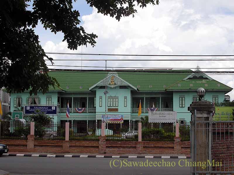 タイのプレーのピリヤテーパウォンウドーンの第二夫人の父親の住居