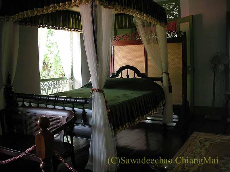 タイのプレーのクムチャオルワンムアンプレーの寝室