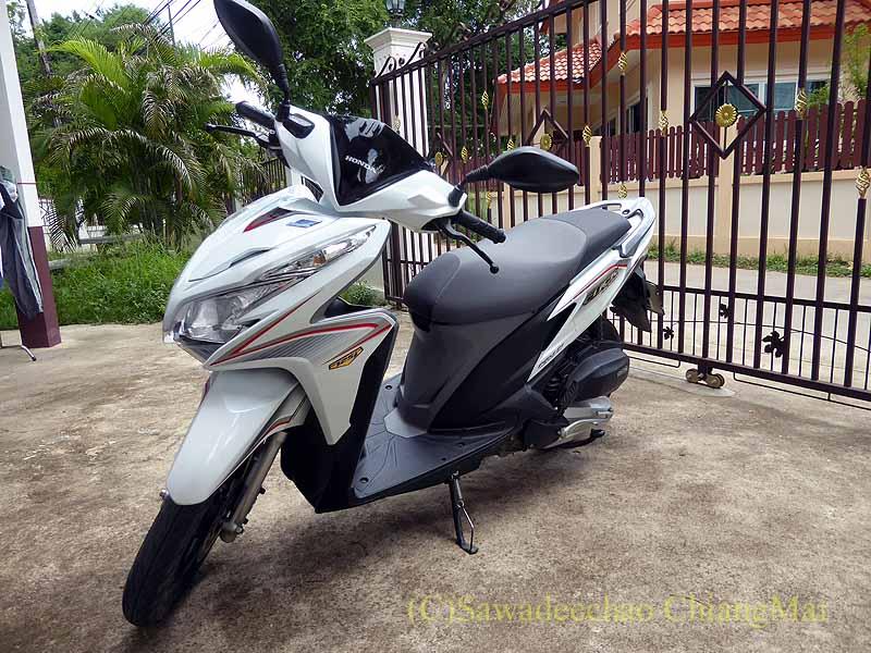 チェンマイで購入して乗っているスクーター