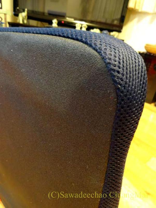 チェンマイで使っている腰痛対策グッズpintoの底面