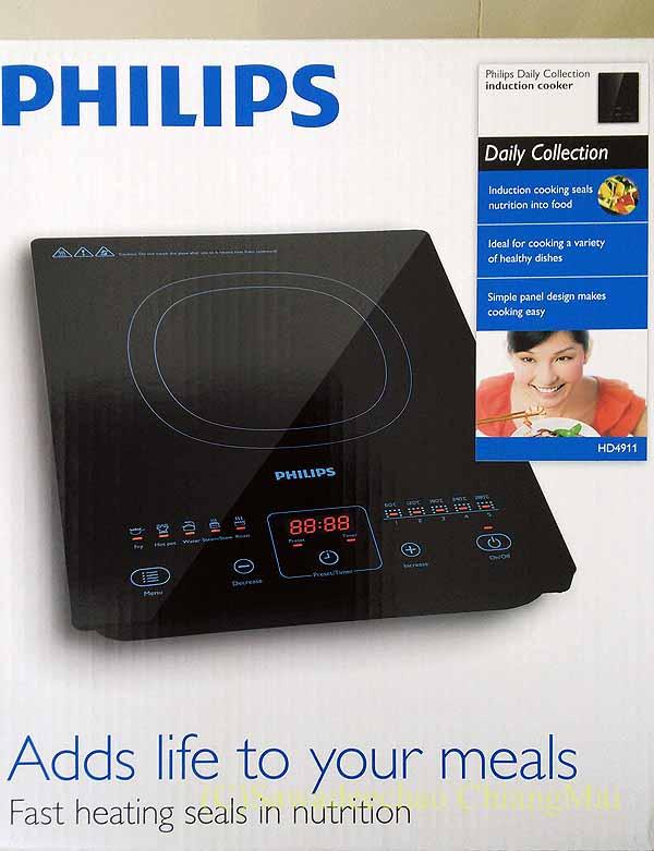 タイのチェンマイ暮らしで購入したIH調理器の外箱