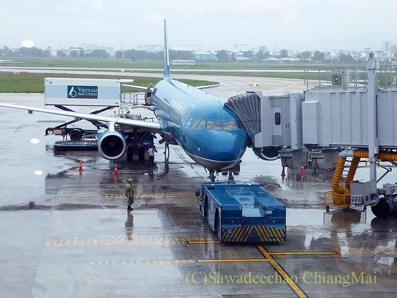 ベトナム航空VN603便ホーチミン発バンコク行きの機体