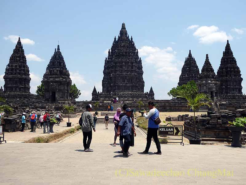 インドネシアの世界遺産ヒンドゥー教寺院遺跡群プランバナン