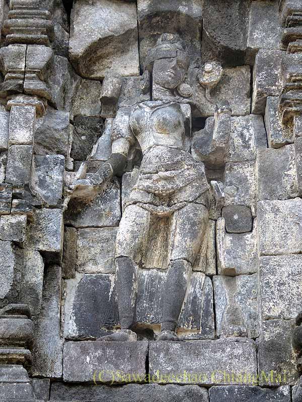 インドネシアのプランバナンのルムブン寺院遺跡のヒンドゥー神像