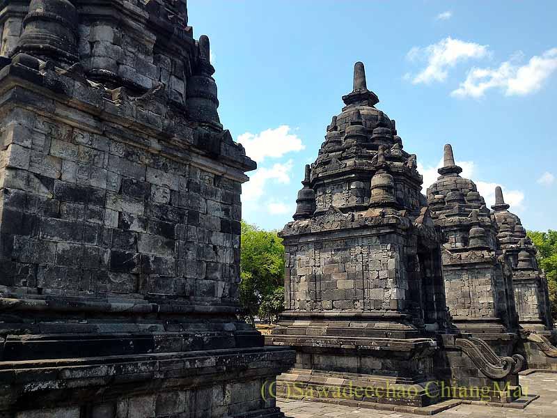インドネシアのプランバナンのセウ寺院遺跡のペンジュル寺院