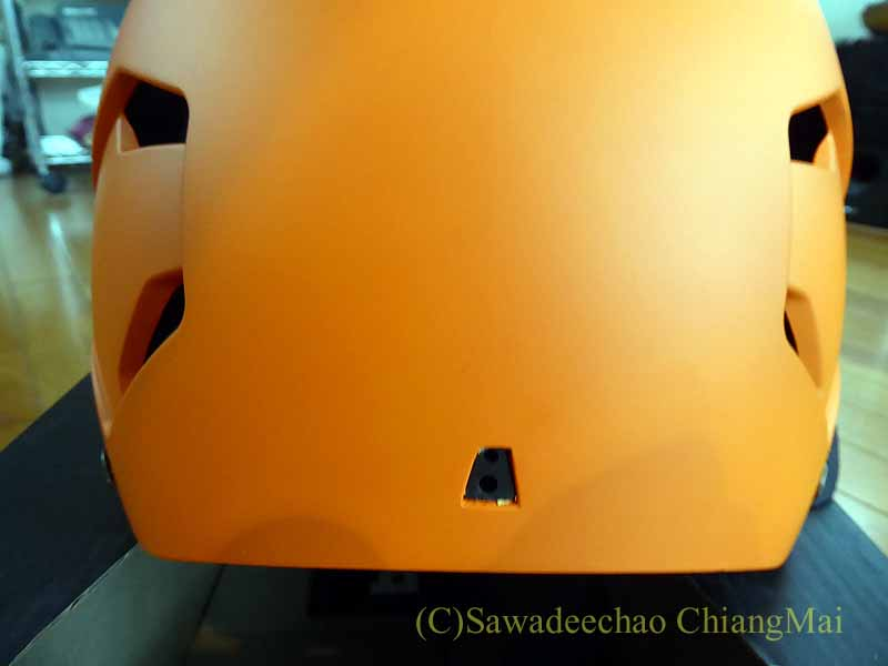 チェンマイ用の自転車ヘルメット、バーンのメーコンの後面