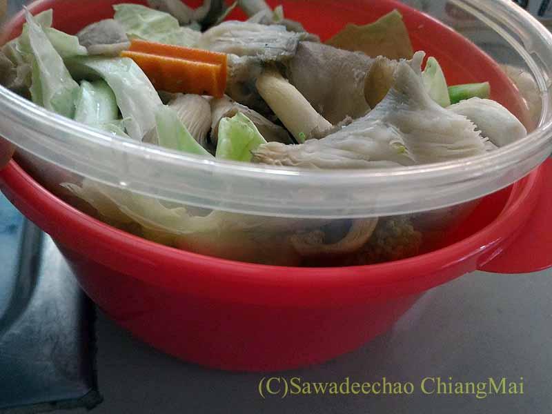 野菜スープが簡単に作れる「レンジで野菜スープ」