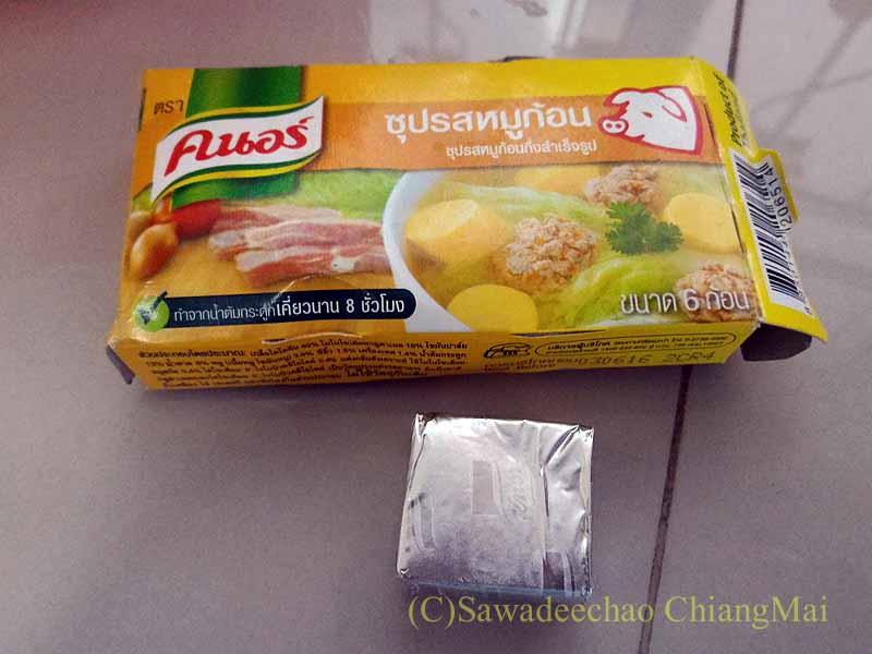 タイ産のクノールのスープの素