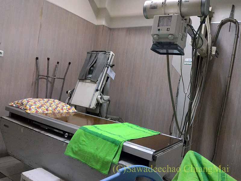 インドネシアのソロの病院のレントゲン室
