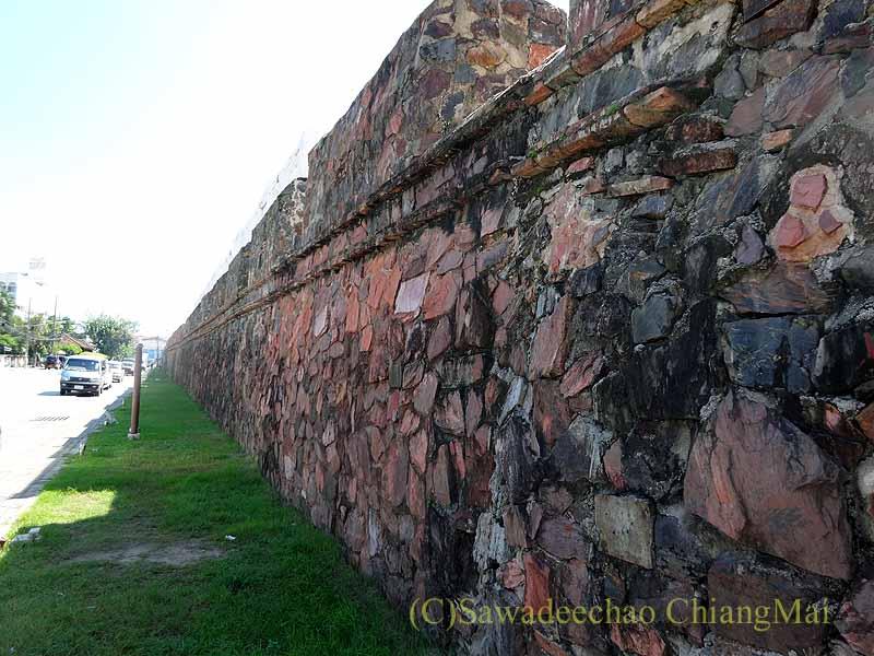 タイ南部の街ソンクラーの古い城壁