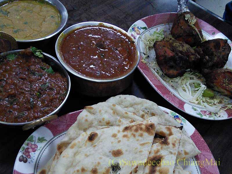 バンコクのインド料理の店ママインディアンレストラン