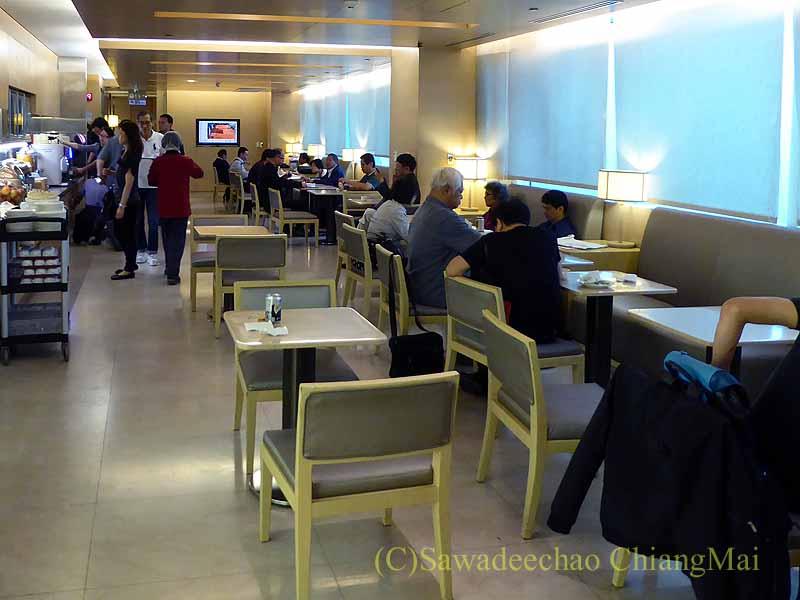 台北桃園空港にあるチャイナエアラインビジネスクラスラウンジ