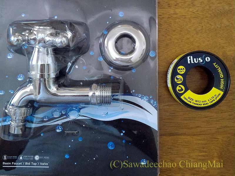 チェンマイの自宅バスルームの水漏れ修理