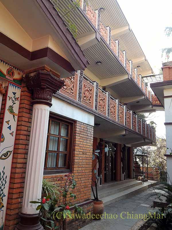 ネパールのパタンにある友人の家の1階