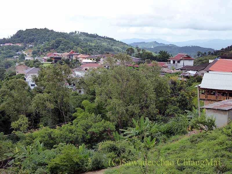 タイ最北部のチェンラーイ県メーサローンの村概観