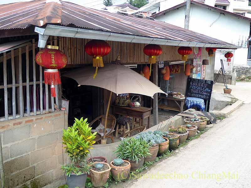 タイ最北部のチェンラーイ県メーサローンの古民家カフェ