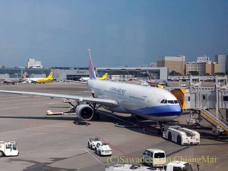 チャイナエアライン(中華航空)CI107便の機体