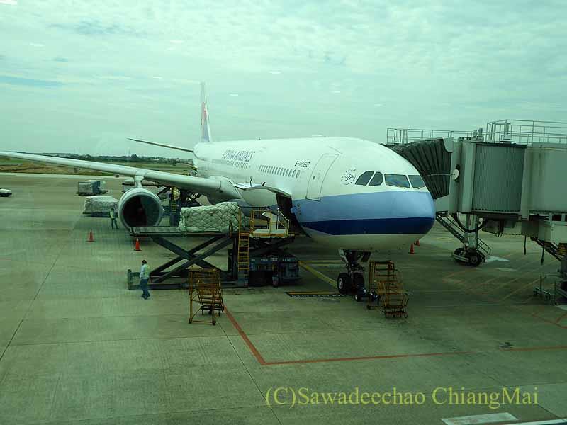 チャイナエアライン(中華航空)CI835便