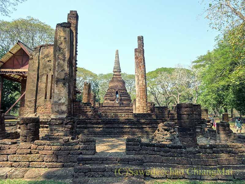 タイ北部スコータイ県にあるシーサッチャナーライ歴史公園