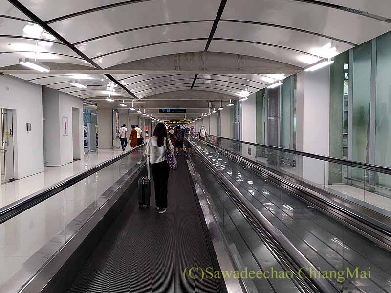 コロナ禍でのスワンナプーム空港国内線ターミナル