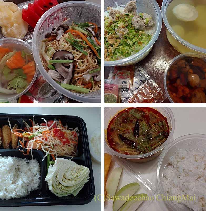 バンコクの隔離措置施設THE VERTICAL SUITEの食事(4)