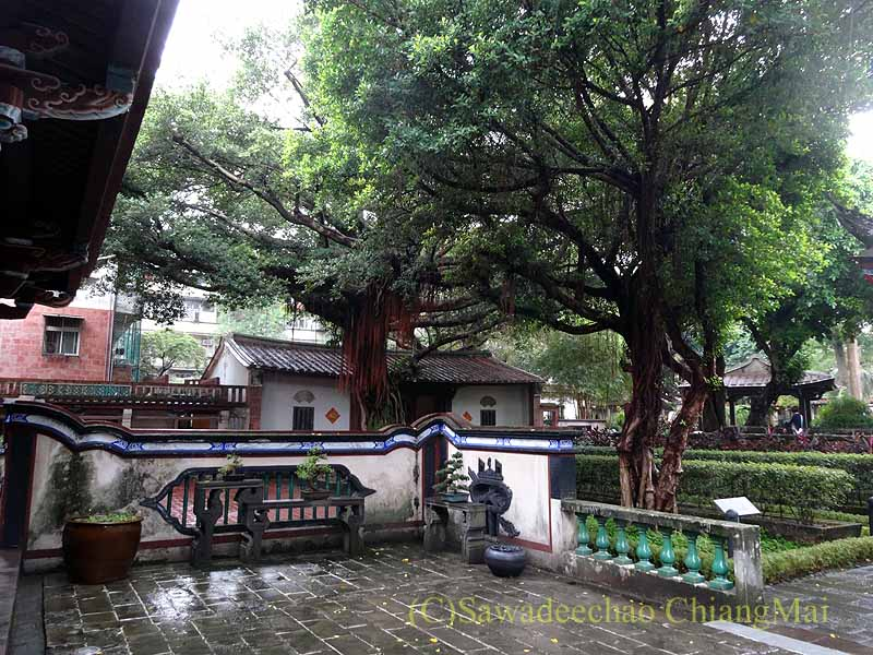 台北郊外にある歴史的邸宅と庭園「林本源園邸」