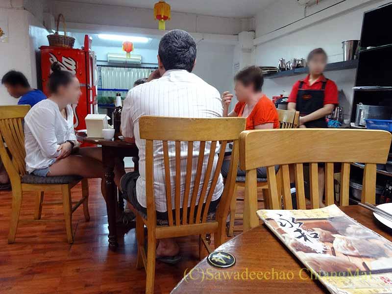 バンコクある台湾系中華レストラン永和豆漿の店内