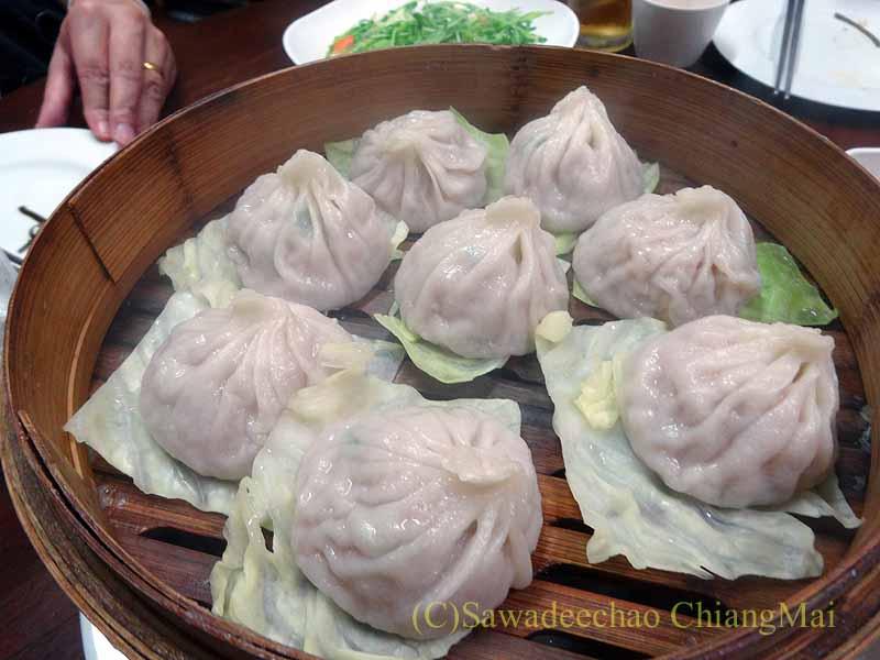 バンコクある台湾系中華レストラン永和豆漿の小籠湯包