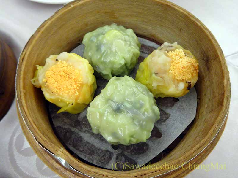 台北にある京星港式飲茶Part2のシュウマイ