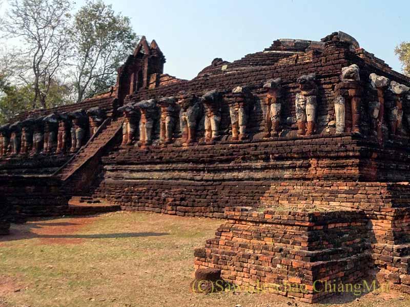 タイのスコータイ時代の要塞都市カムペーンペット遺跡群