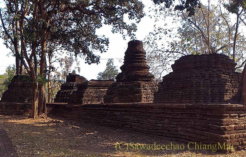 タイのカムペーンペット遺跡群のワットアワートヤイ