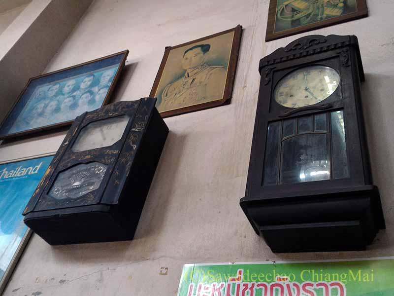 カムペーンペットにある中華麺の店バミーチャーカンラーウの店頭