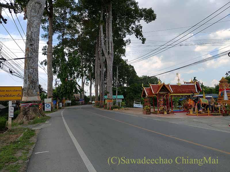 新型コロナ規制が強化されたチェンマイ・ラムプーン県境