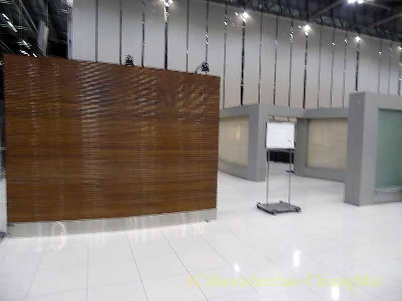 スワンナプーム空港のタイ国際航空上級クラスチェックインエリア