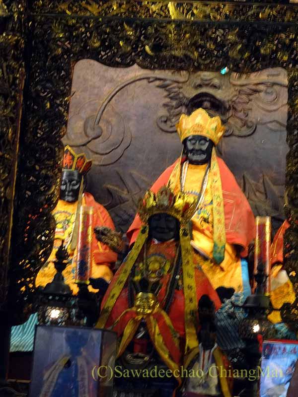 台北郊外にある三峡の清水祖師廟のご本尊