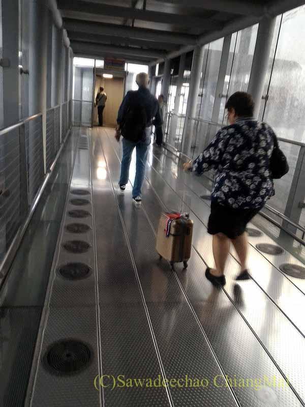 スワンナプーム空港国内線ターミナルの搭乗ゲート