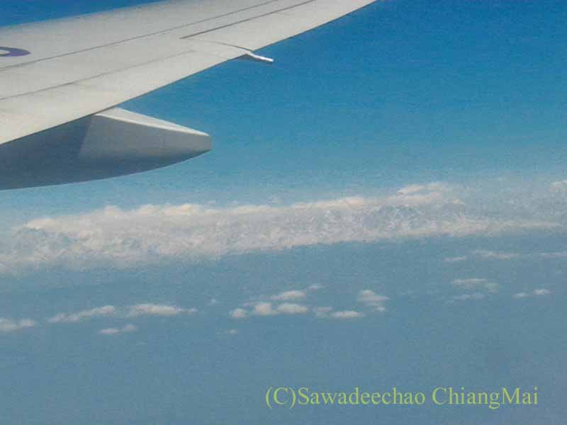タイ国際航空TG319便カトマンズ行き